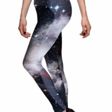 Dark Galaxy Print Leggings