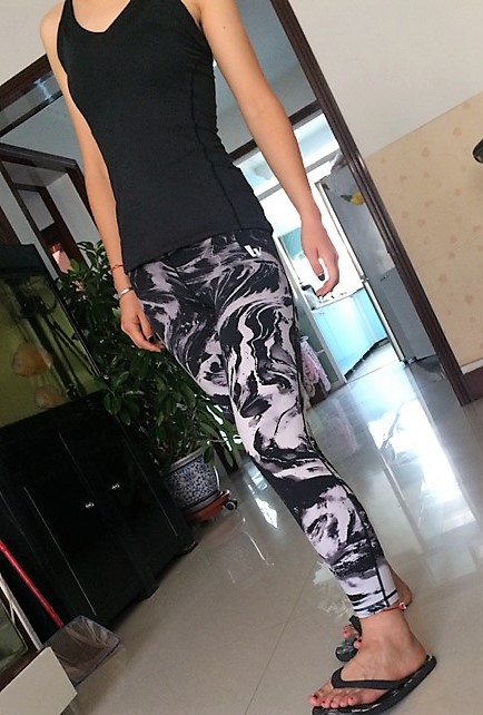Elastic Female Fitness Leggings