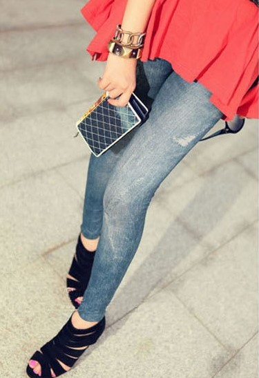 Denim Leggings