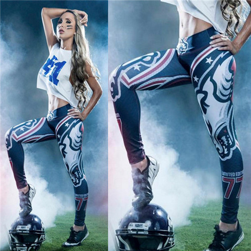 Fitness NFL Cool Fabric Leggings