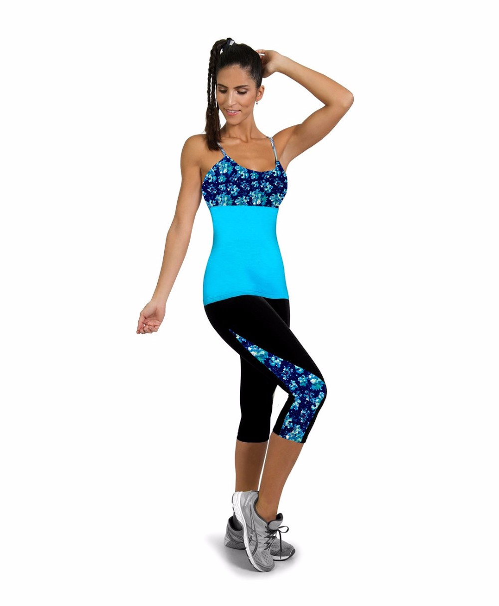 Cute Women 3D Printed Spandex Capris Leggings