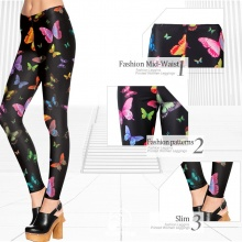 Adventure Time Fitness 3D Print Butterfly Leggings