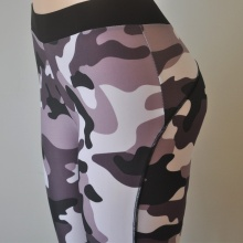 Sexy Women's Camouflage Print Workout Leggings