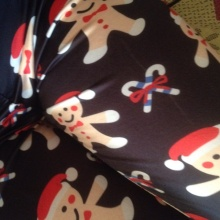 Warm Christmas Pajamas Leggings