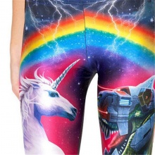 3D Print Rainbow Unicorn Leggings