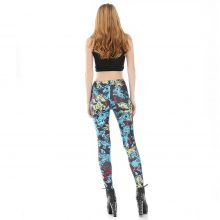 Zombie Unicorn High Waist Workout Leggings
