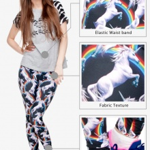 Sexy Rainbow Unicorn Leggings