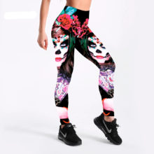 Devil Beauty Halloween Leggings